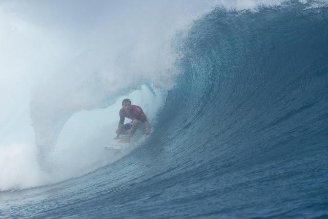 6 Bede Durbidge Billabong Pro Tahiti Foto WSL Stephen Robertson