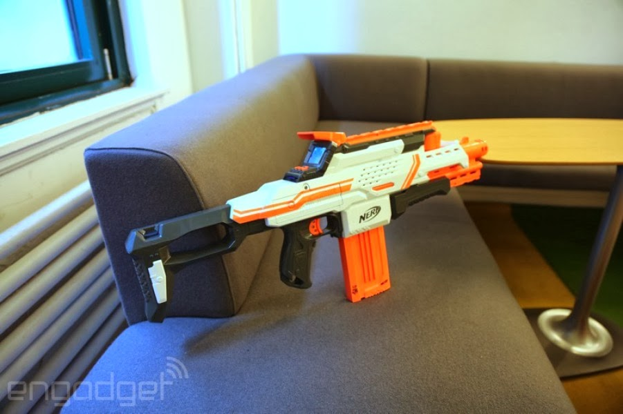 Nerf Cam ECS-12 (prototype to Engadget)