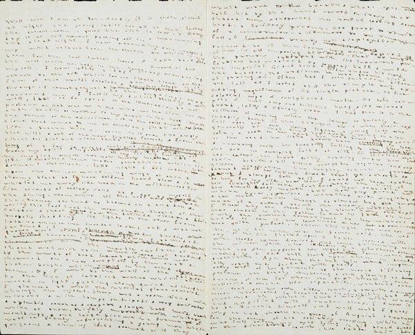 Immagine degli appunti di Charlotte Bronte. Vanillasnotes
