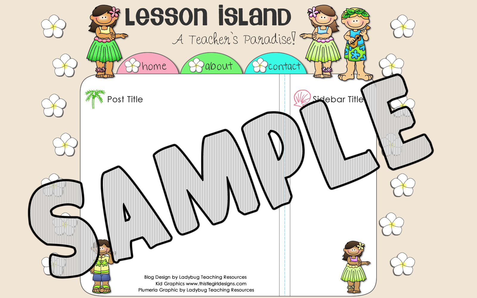 Ladybug Teaching Resources: New Premade Template: Lesson Island