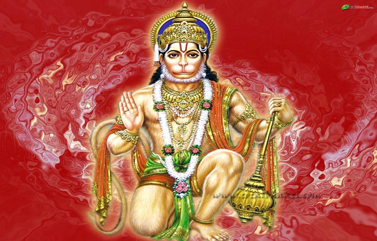 Jalwa Hanuman Picture More God Maa Saraswati Send Happy Janmashtami