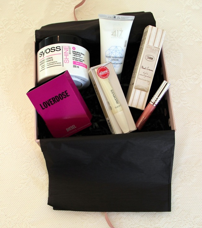 Fashion blog Vered'Style glossybox aug 2012 israel