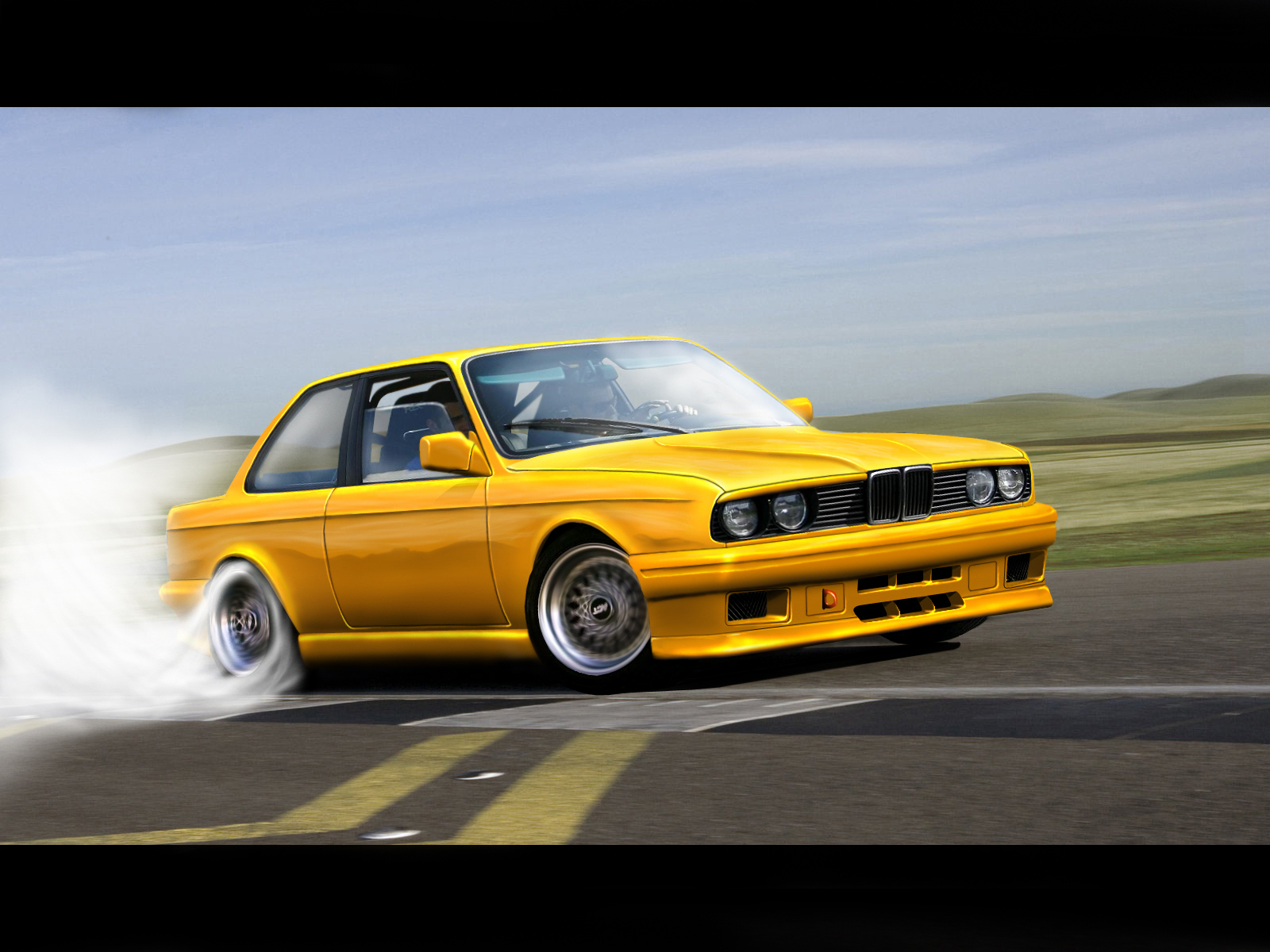 Bmw Drift Wallpaper