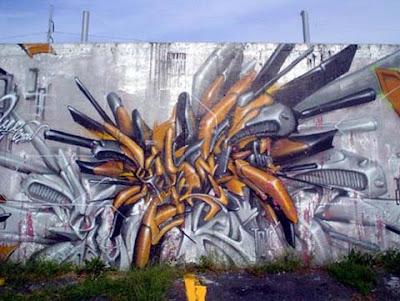 Full graffiti art