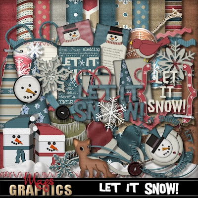 Christmas Song Blog Train - Let It Snow