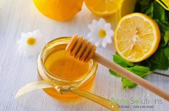 Cách trị mụn thâm từ mật ong và chanh