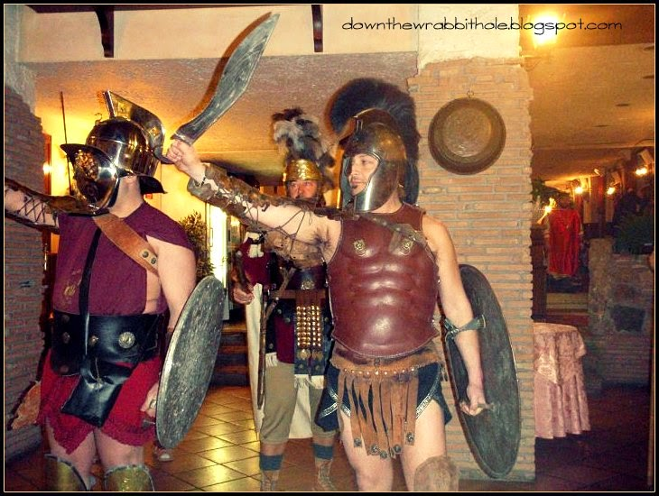 gladiators in Italy, gladiator school Rome