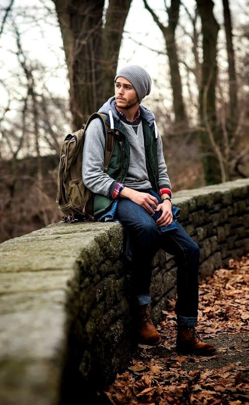 Fashion Men Forest