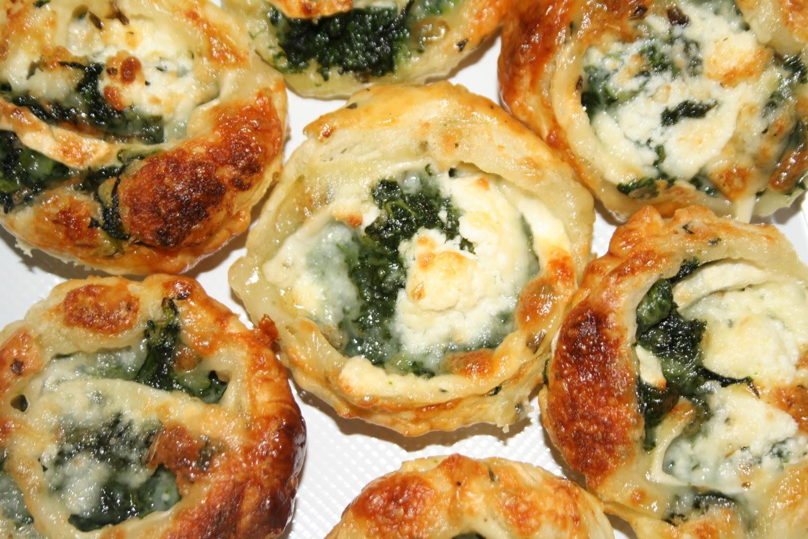 El blog del martes tartaletas de espinacas con queso de cabra for Espinacas como cocinarlas
