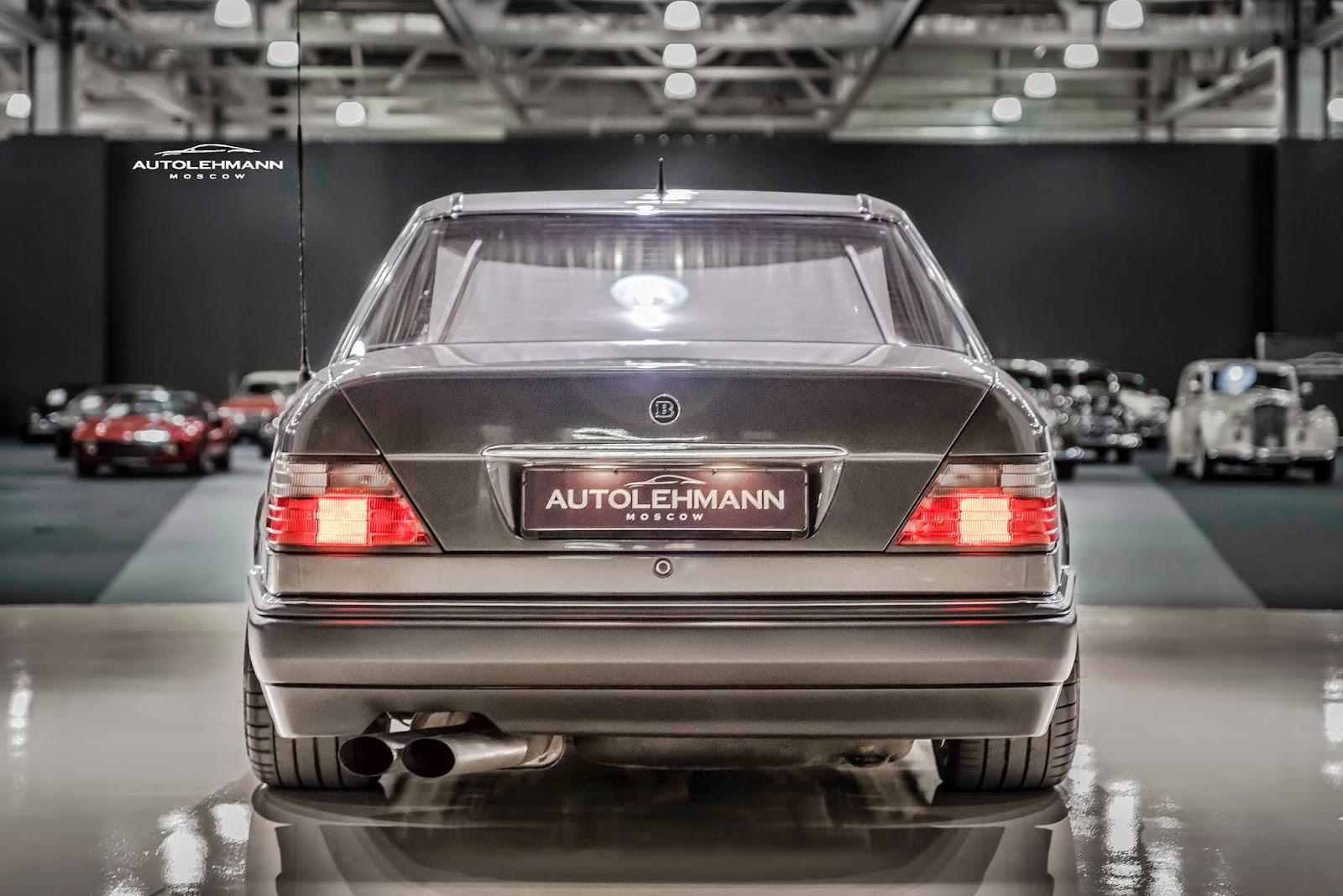 Mercedes Benz W124 E500 Brabus 6 0 Benztuning