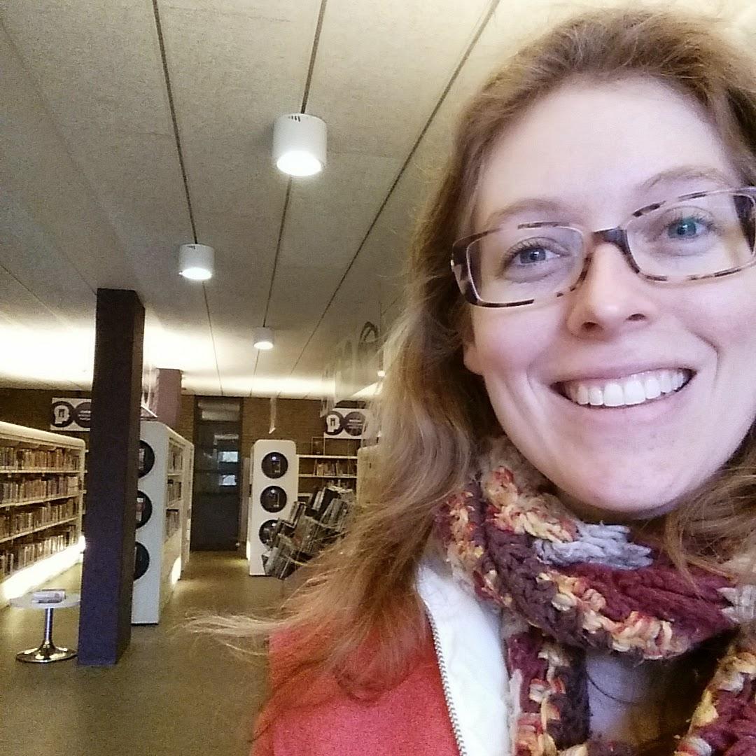 bibliotheek library #usie #selfie books
