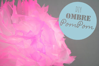 DIY Ombre Pompoms