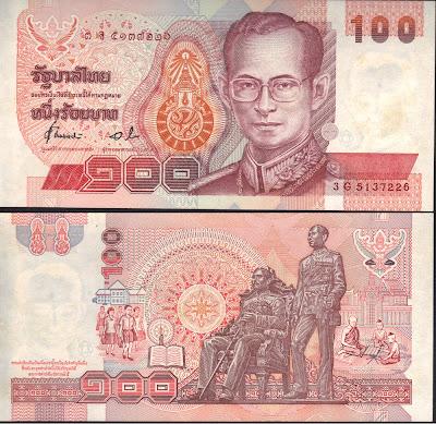 Tailandia 1000 baht 1994 P# 97