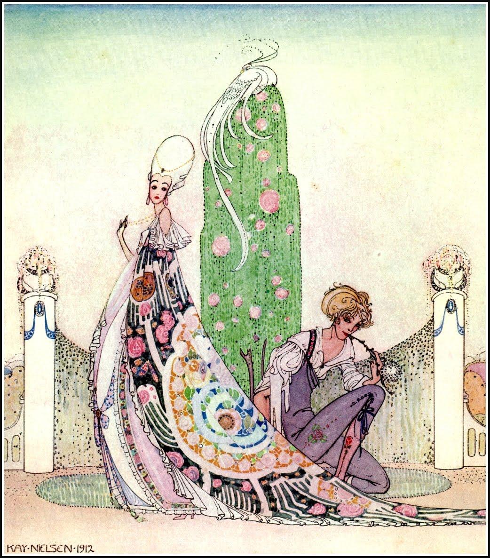 Sparks: Kay Nielsen Vintage Illustration
