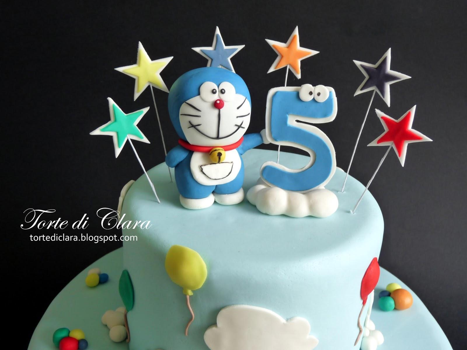 Doraemon Images For Cake : Torte di Clara: Doraemon cake