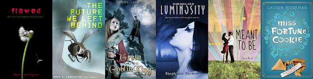November 2012 YA Book Releases