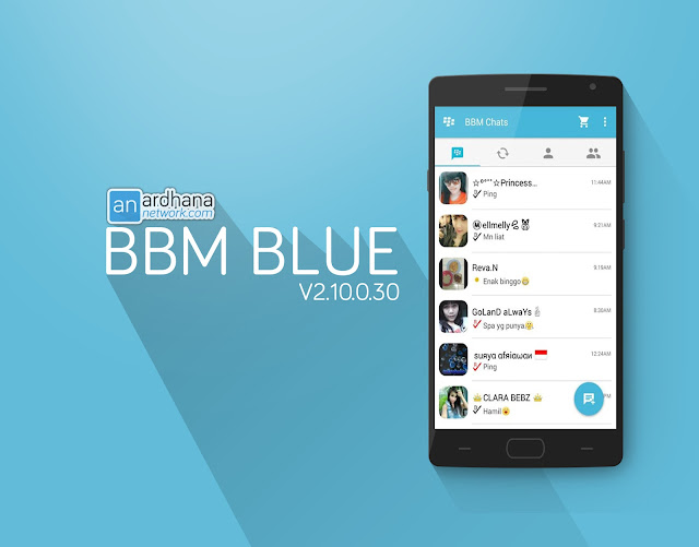 BBM Blue Timberland - Ardhana Network