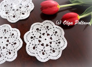 Doily Coaster Pattern $2.99