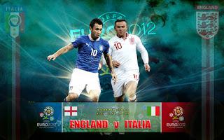 Prediksi Skor Inggris vs Italia Euro 25 Juni 2012