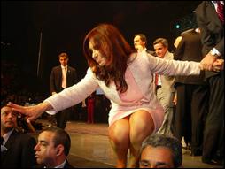 Kirchner destila seu antissemitismo