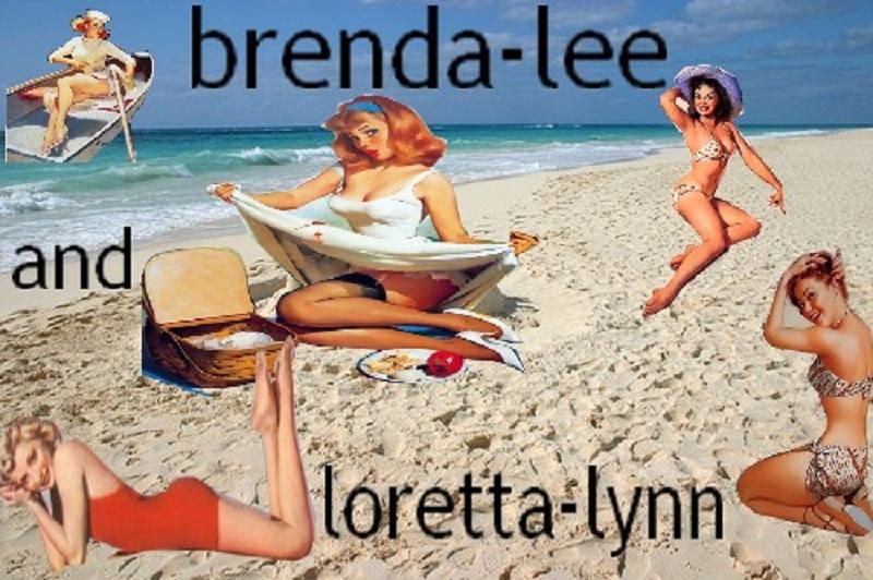 brenda-lee and loretta-lynn rock' n roll - country
