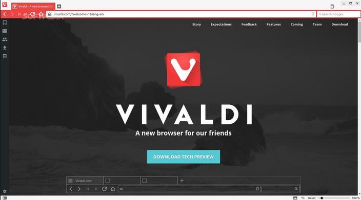 Free Download Vivaldi 2015 Latest Version 1.0