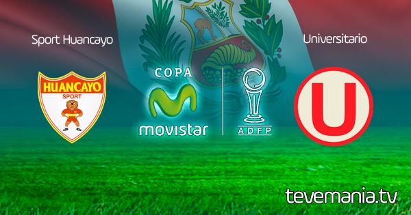 Sport Huancayo vs Universitario en Vivo - Torneo Apertura