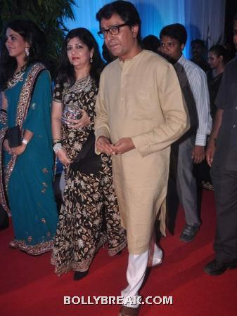 raj thackeray and wife - (5) - Couples at Esha Deol's Wedding Reception