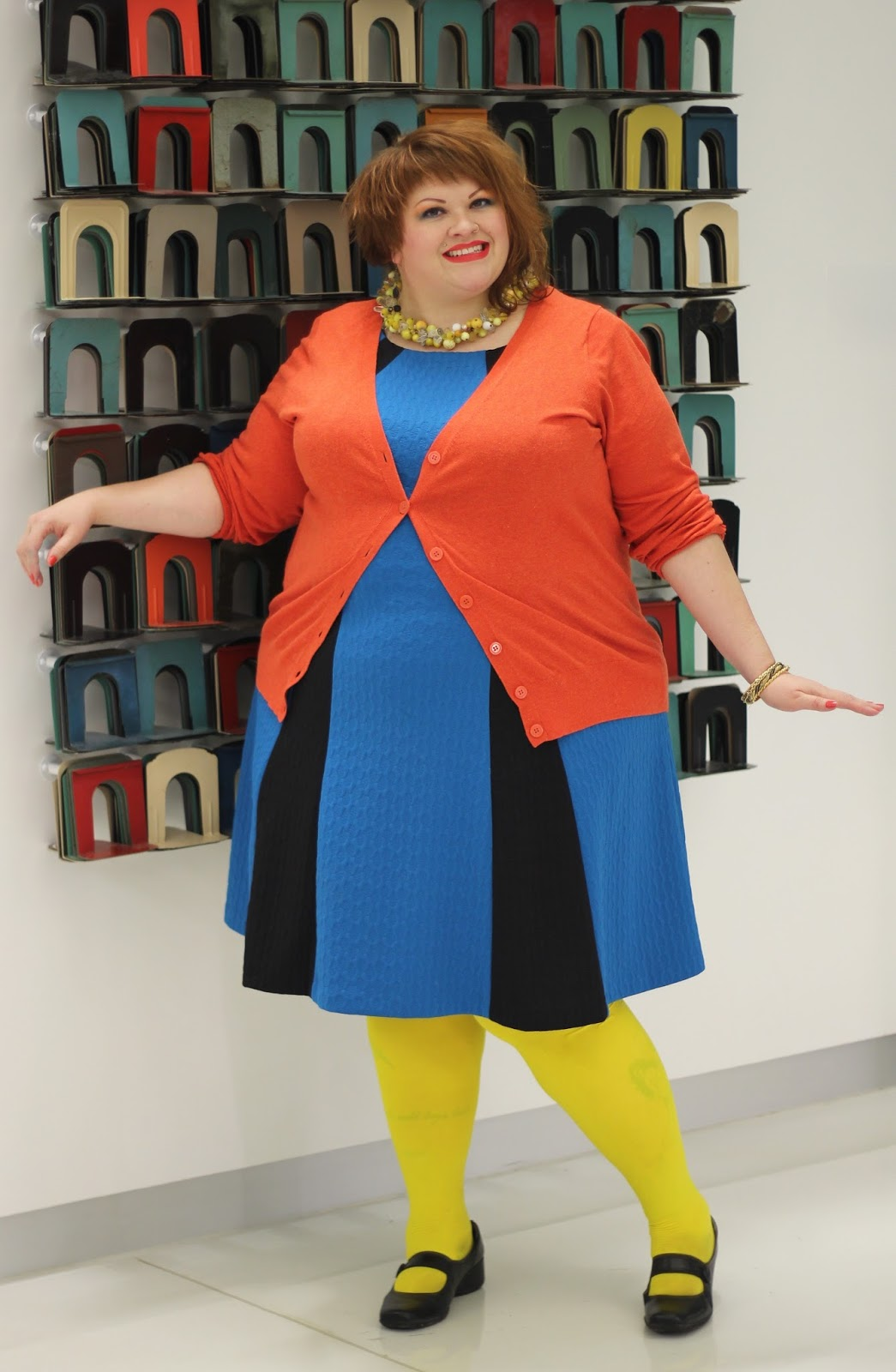 The Muffin Queen\'s Closet: Blue, Black, Orange, & Yellow