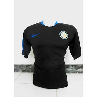 jual jersey grade ori enkosa sport Jersey training Inter milan warna hitam terbaru musim 2015/2016
