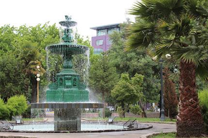 Fontana de Agua Plaza de Armas San Carlos - 2017