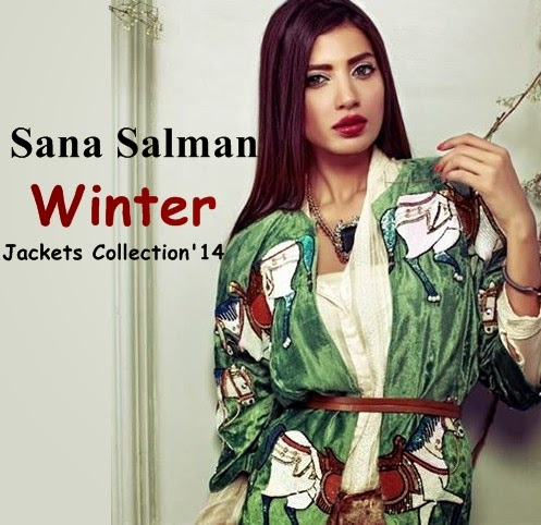 Sana Salman Luxury Pret Collection 2014-15