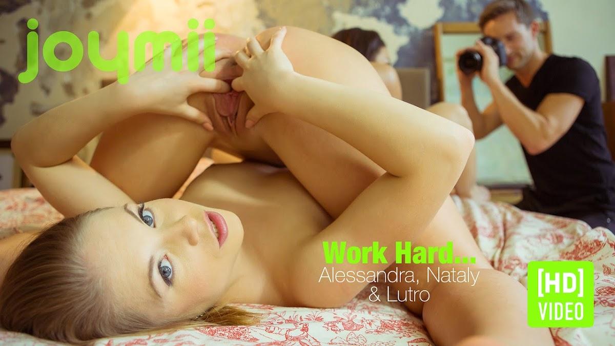 Utkymib 2014-11-28 Alessandra J & Nataly G - Work Hard (HD Video) 12140