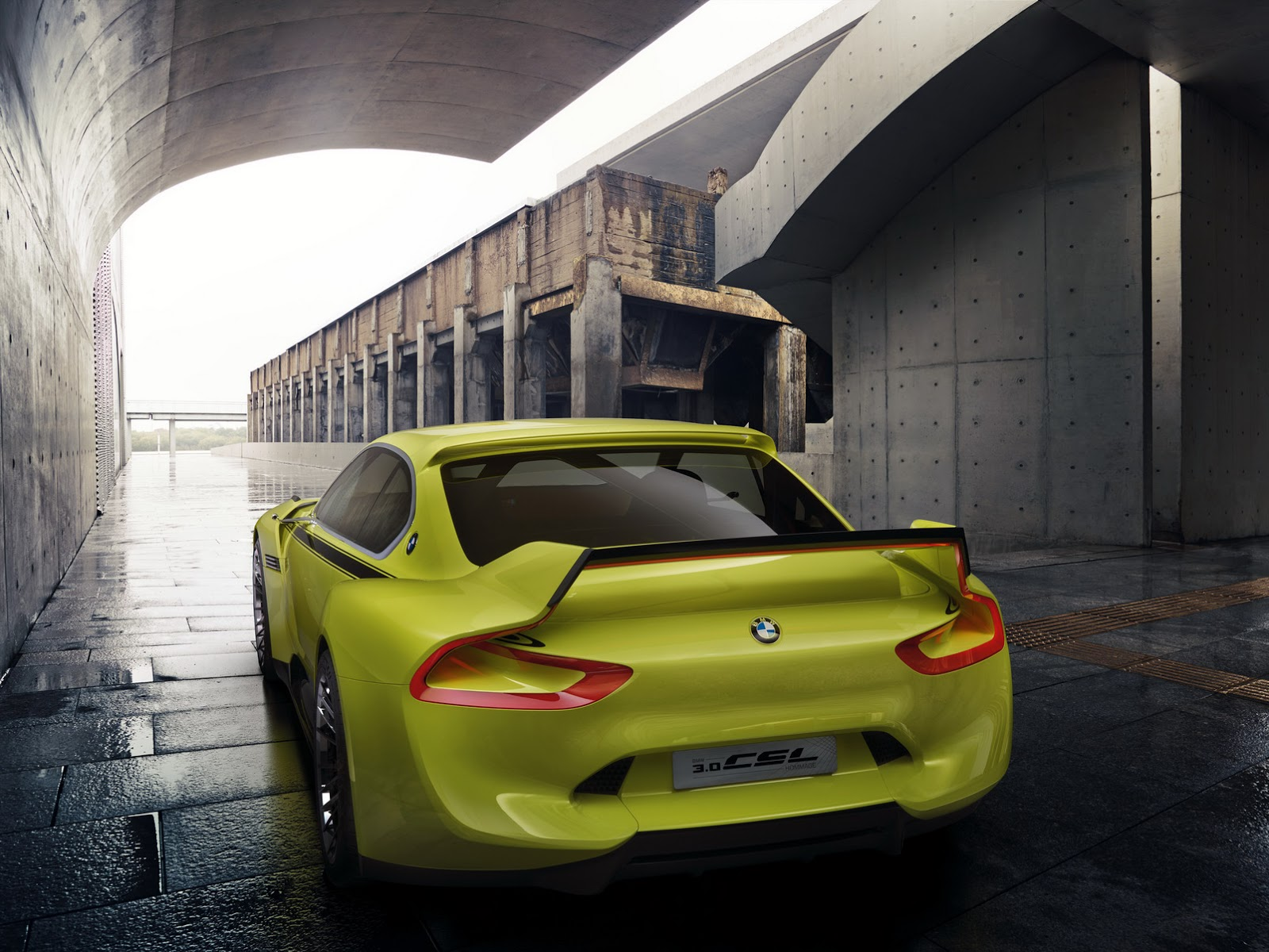 New Bmw 3 0 Csl Hommage Concept The Official Rundown