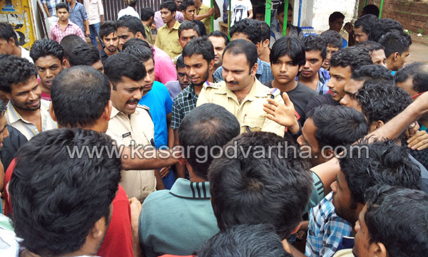 clash in Eriyal, Kasaragod