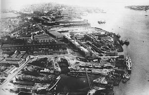 Pompey Harbour and Dockyard in the 1950's
