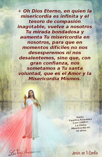 oh dios eterno aumenta tu misericordia en nosotros