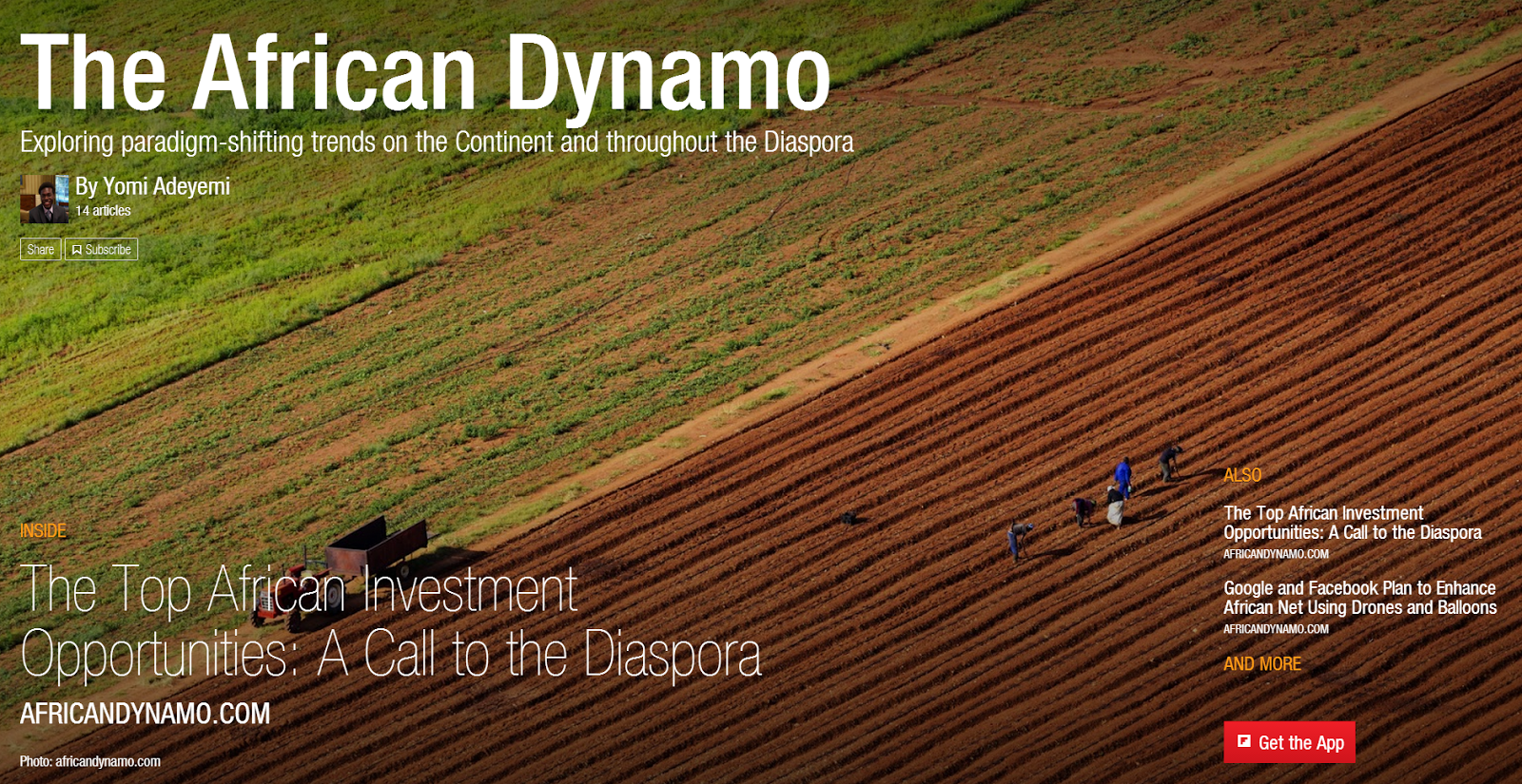 African Dynamo Magazine. Now on Flipboard http://t.co/kNJHrwcDnn