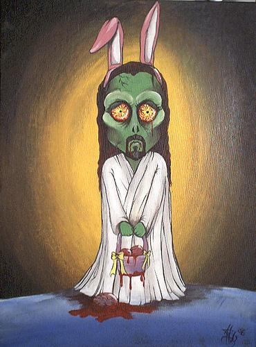 zombie jesus easter bunny jpgJesus Easter Bunny