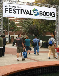 event recap: LA Times Festival of Books 2012 and giveaway!