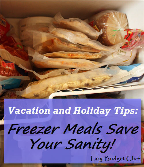 Lazy budget chef christmas vacation tips freezer meals save your lazy budget chef christmas vacation tips freezer meals save your sanity forumfinder Gallery