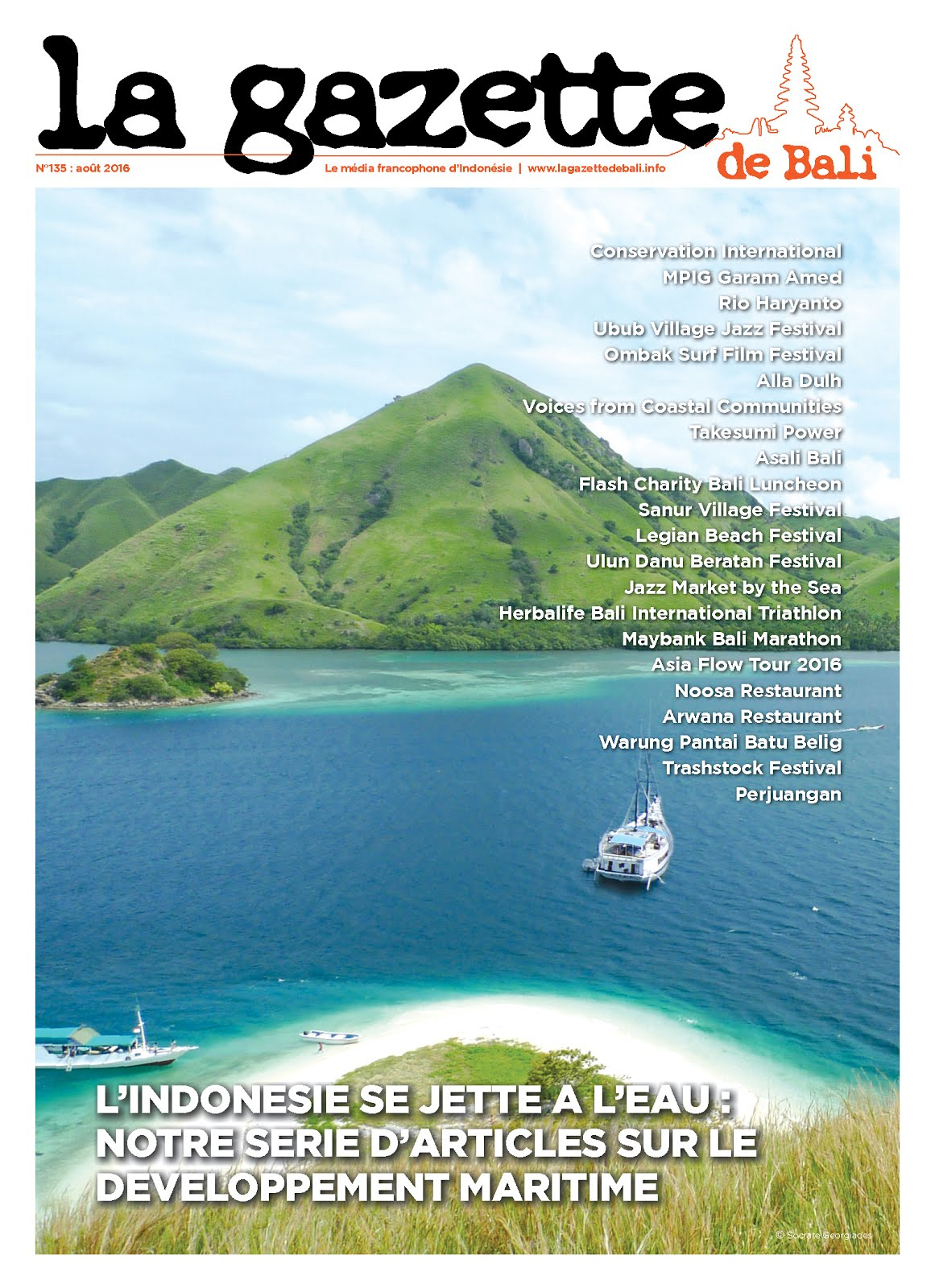 La Gazette de Bali août 2016