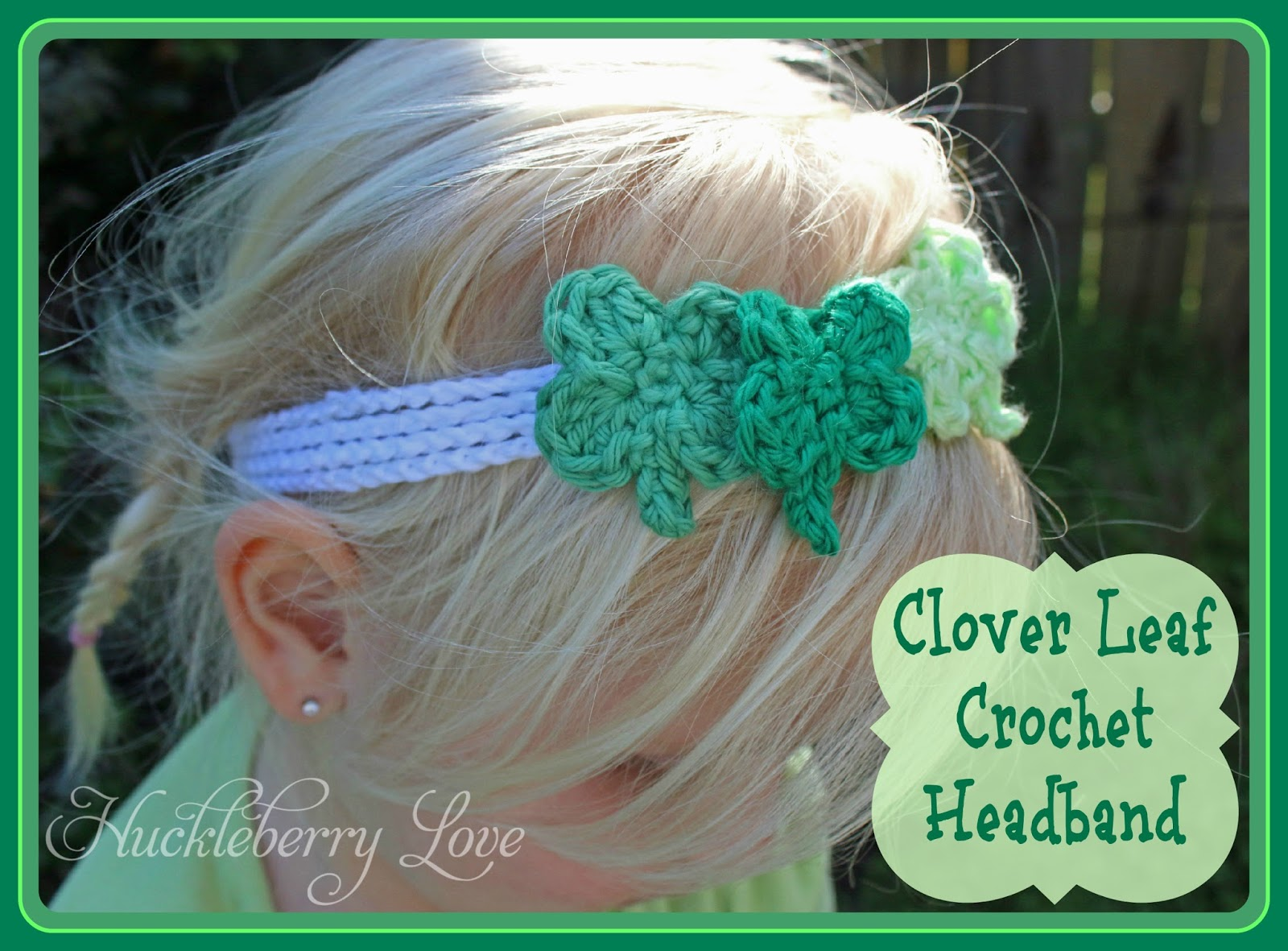 Huckleberry love clover leaf crochet headband tutorial clover leaf crochet headband tutorial baditri Image collections
