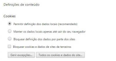 habilitar cookies google chrome