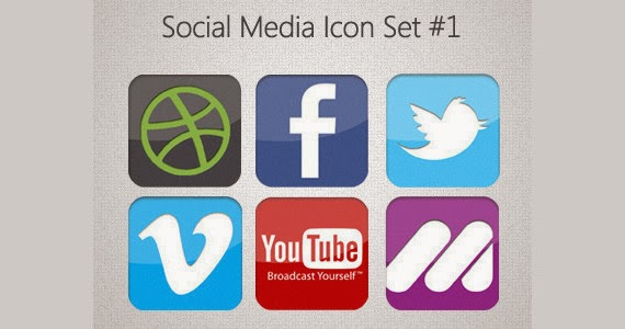 "Social Icons ""Complete"""