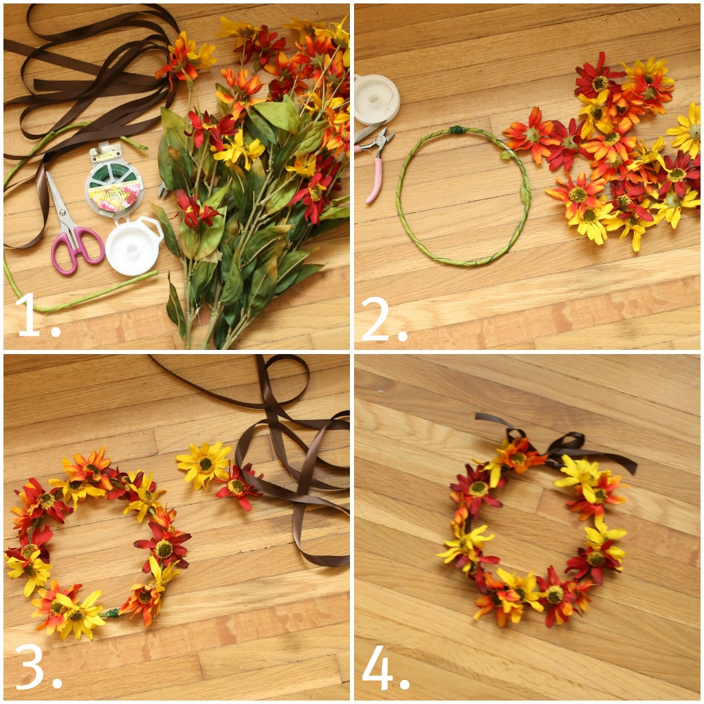 SecretStory ♔ DIY Flower Crown