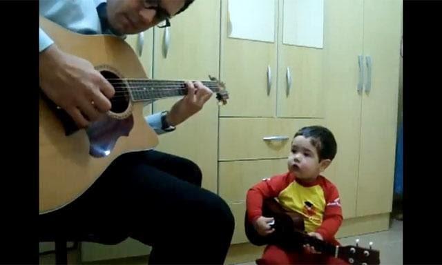 Cantante,bebé,tierno