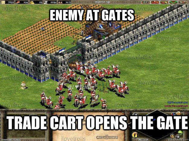 Age of empires meme age of empires 2 memes