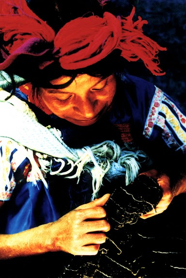 Woman Weaving- Chiapas