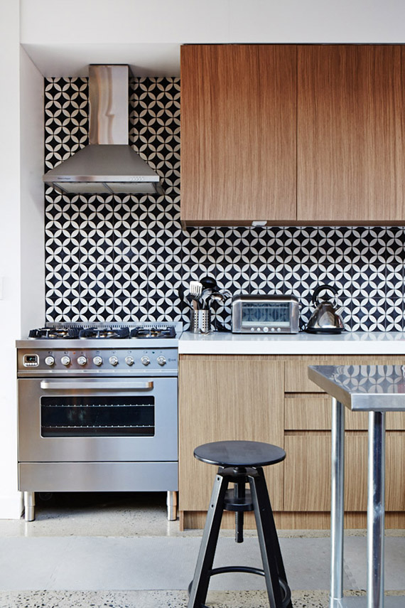 DESIGN TREND: Handle free kitchen cabinets | The Design Files